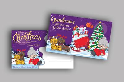 Personal Christmas Card