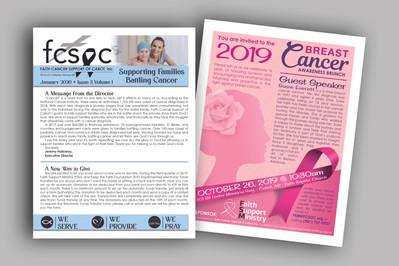 Non-Profit Newsletter & Flyer