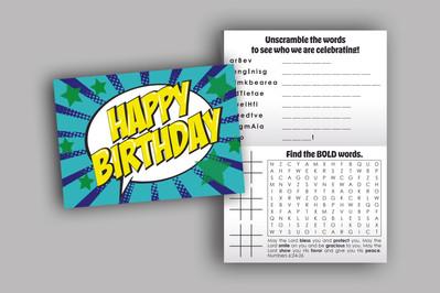 Non-Profit Birthday Card