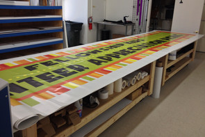 Printed Banner