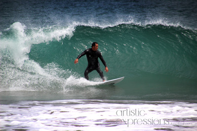 Pacific Coast Surfer