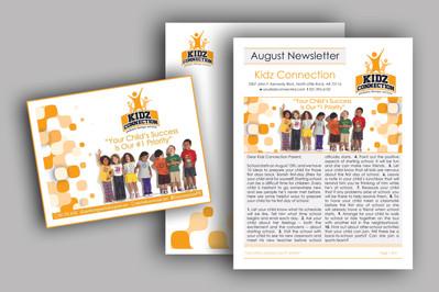School Newsletter & Postcard