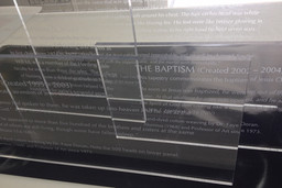Cut, Etched Vinyl on Clear Acrylic