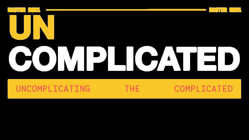 [Un] Complicated - Transparent Title PNG
