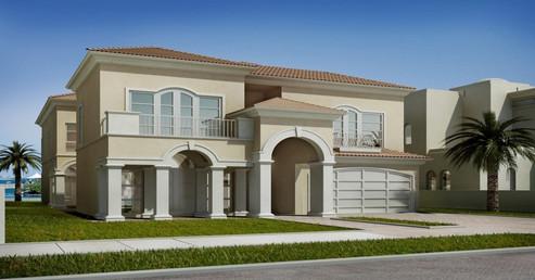 Palm Jebel Ali, Signature Villa's