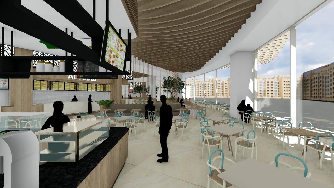UAE Mall Food Court