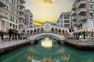 Qanat Quartier, The Pearl, Qatar