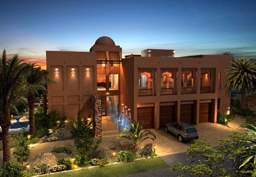 Palm Jebel Ali, 40 series villa's