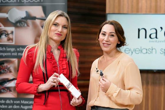Bild von TV24 : Die Unternehmerinnen Anja Graf und Violeta Salicunaj