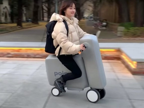 JAPANESE INVENTORS HAVE CREATED AN INFLATABLE E-BIKE