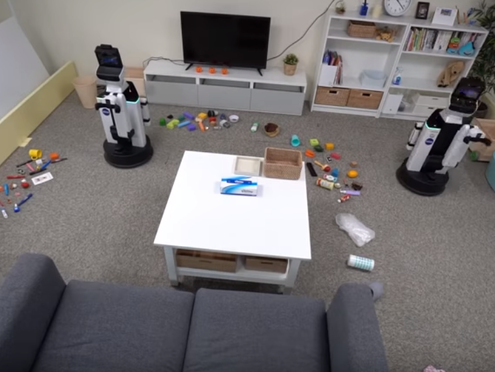 Fully-Autonomous Tidying-Up Robot System Developed