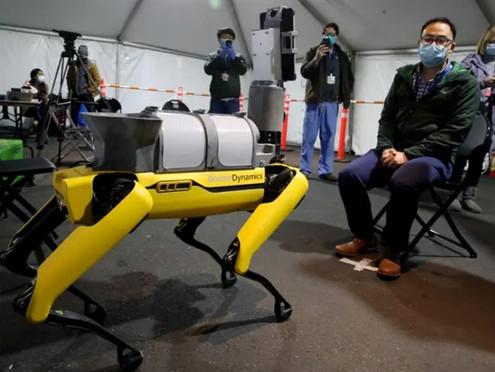 ROBOT DOGS HELP DOCTORS TO FIGHT CORONAVIRUS