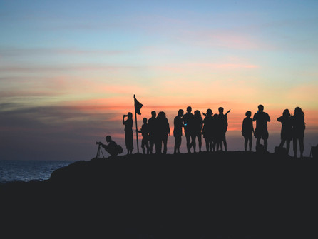 The importance of building your tribe