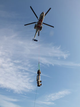 Vertech Helicopter lifting
