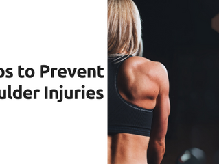 5 Tips to Prevent Shoulder Injuries