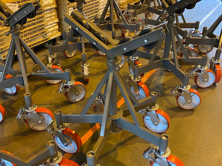 Tool Stands ready for delivery.