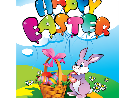 Happy Easter to all our customers and suppliers.
