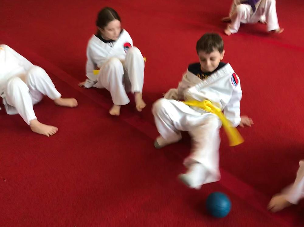 Bay State Martial Arts - Crabwalk Soccer
