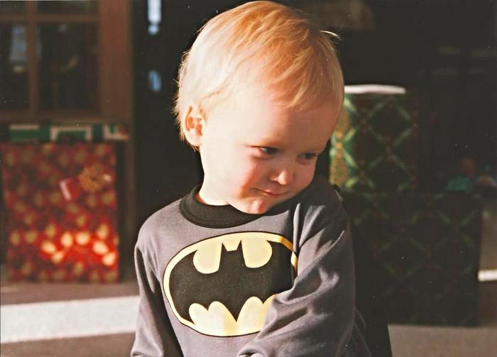 Batman PJs, Notebooks, & How I Became a Christian