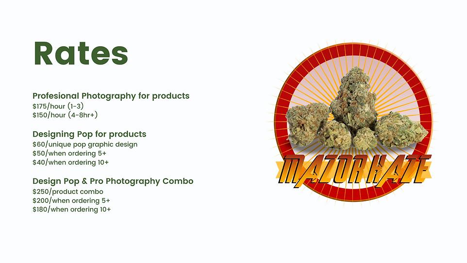 cannabis agency branding design logo photograhy