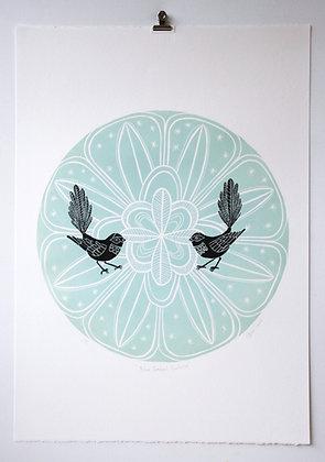 Blue Fantail Porohita