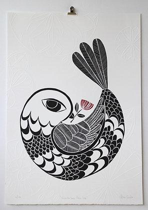 Pohutukawa Peace Dove