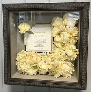 bridal preservation keepsake