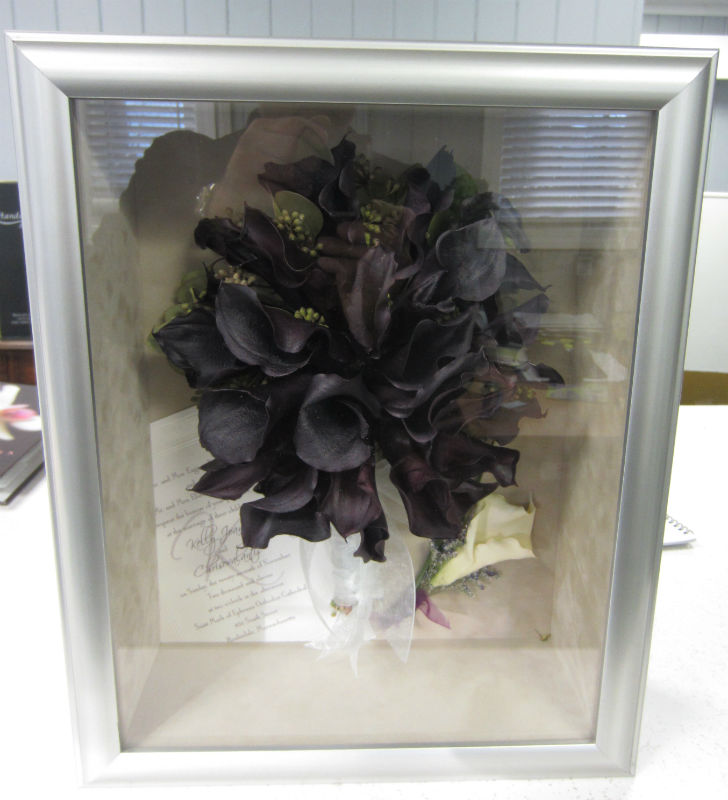 Premier Shadow Box 36 Antique Silver