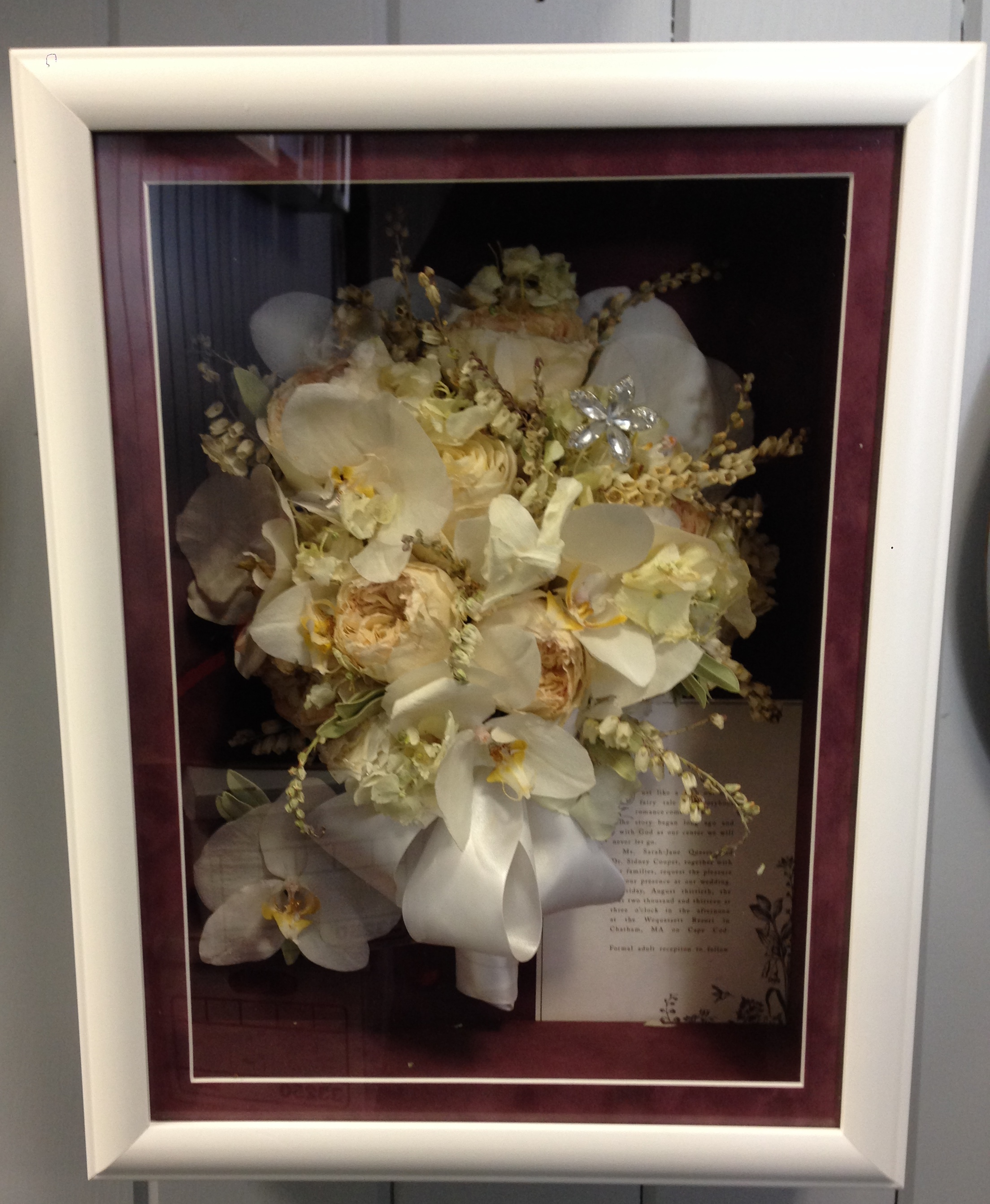 Premier Shadow Box 36 White