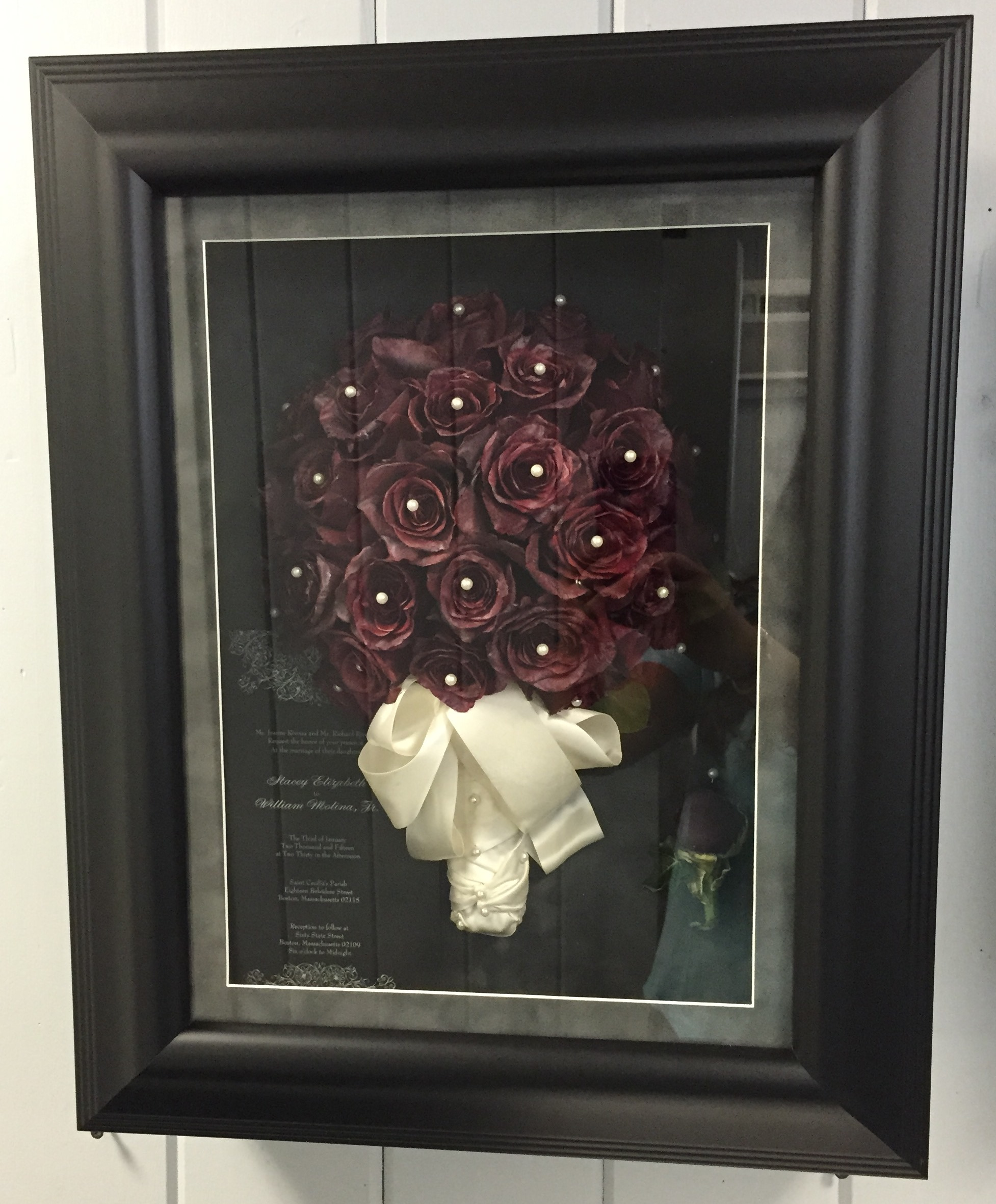 16x20 REC 65 Shadow Box Black