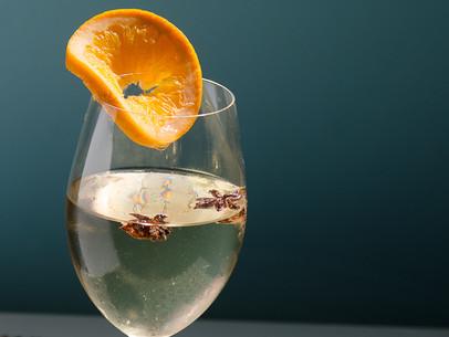 Navegado de vino blanco