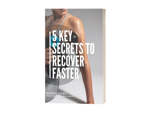 5 Key Secretes to Recover Faster ebook