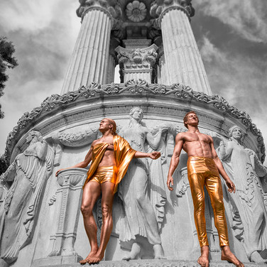 Robin & Aaron, Palace of Fine Arts