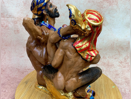 "My new sculpture ""Harem"""