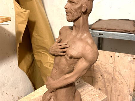 New guy was Finished in sculpting yesterday night