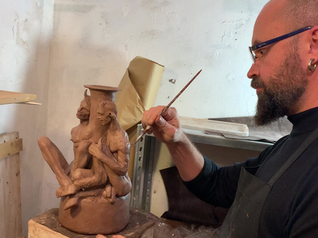 New work in progress.. it is gonna be a vase