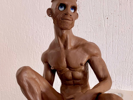Newly sculpted guy.