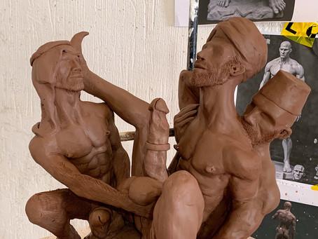 New sculpture I modelled.