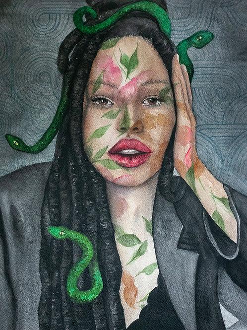 Medusa was a Black Queen
