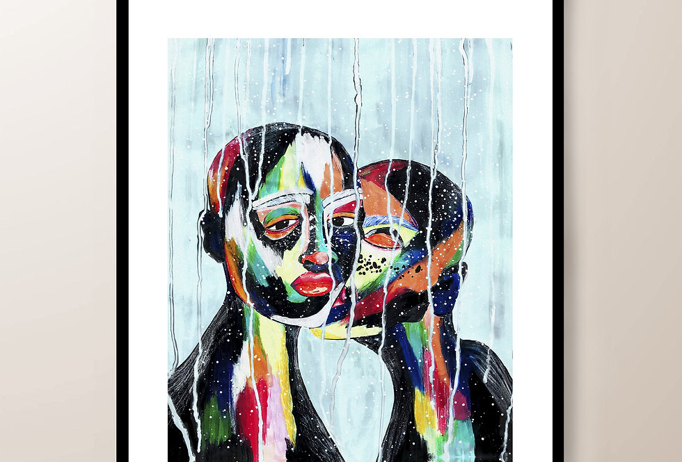 Love Is The Drug - Limited edition signed fine art print