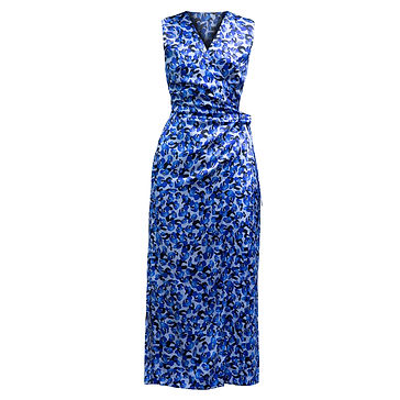 irene dres blue leopard