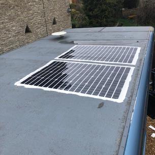 Horse Box Flexi Panel Solar