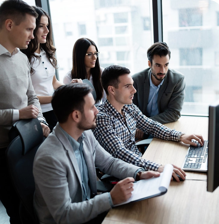 Digital Marketing Team Working