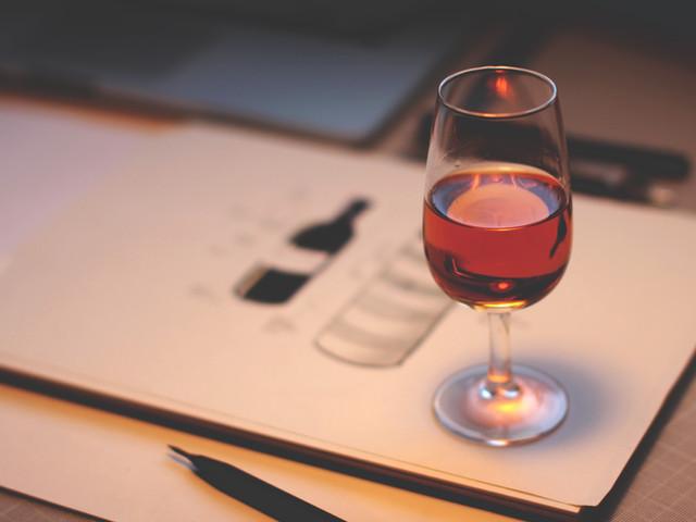 Schizzo del vino