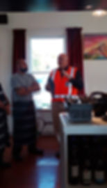safety meeting in the workplace