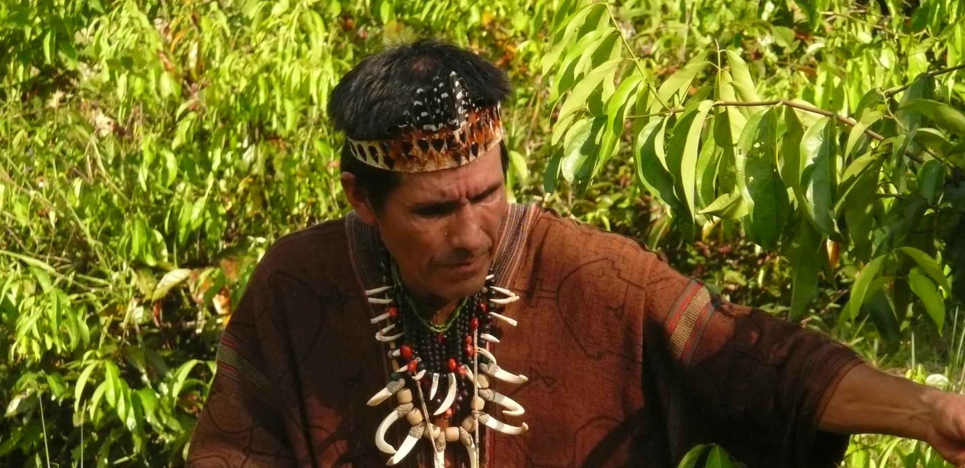 Chamane Francisco au Pérou