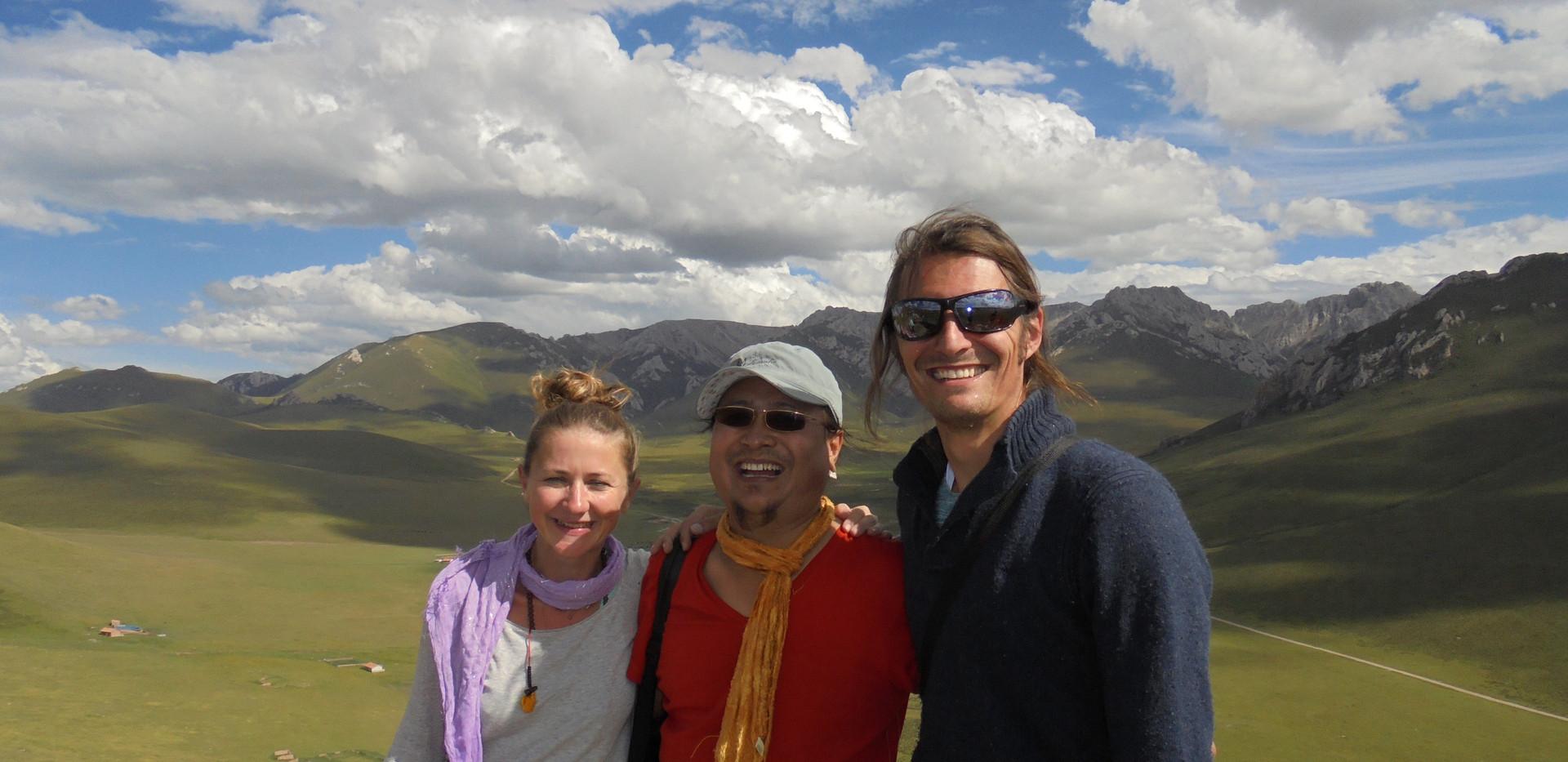 Au Tibet avec docteur et Yogi Nida Chenagtsang