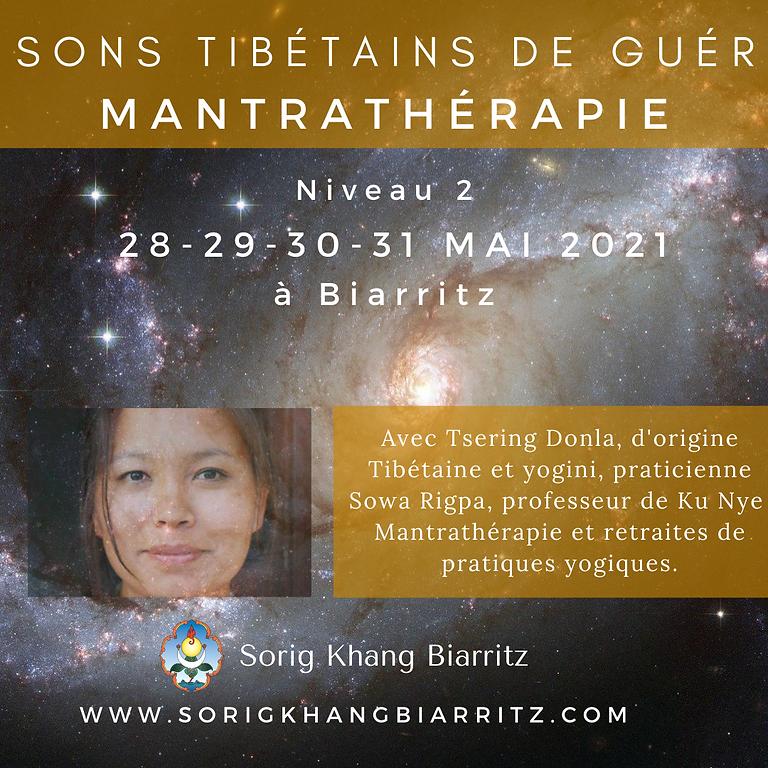 """Formation Mantrathérapie Niveau 2 ON LINE """"Les sons Tibétains de guérison"""""""