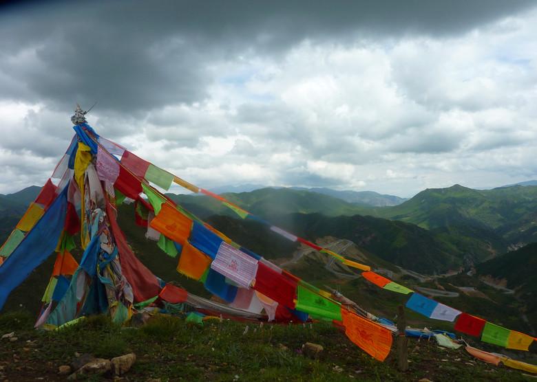 Tibet offrandes aux esprits nature