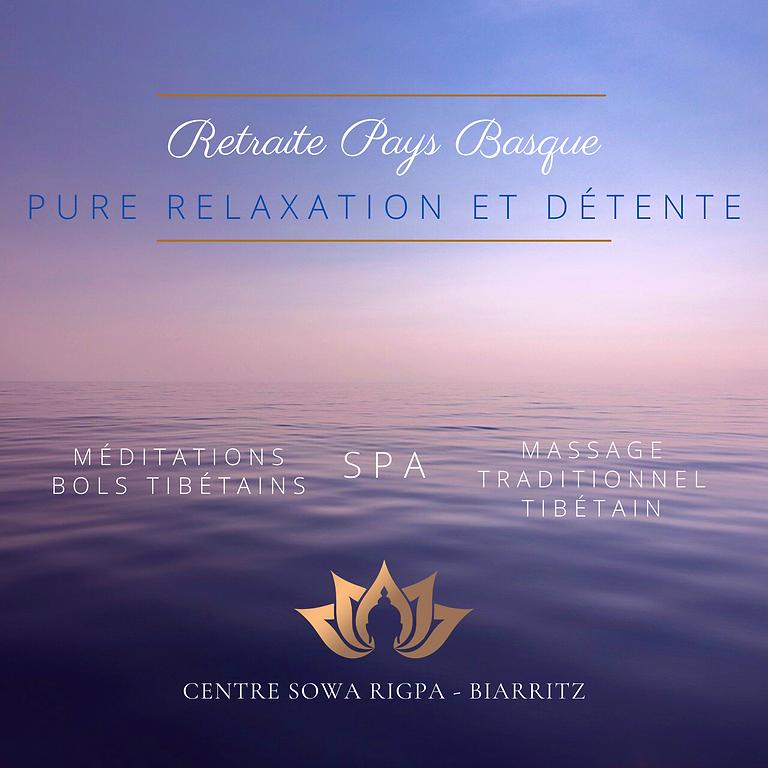Retraite Pure Relaxation et Pure Détente au Pays Basque